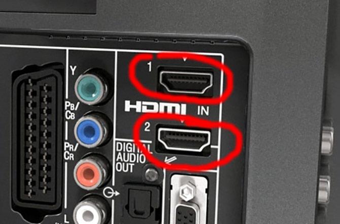 Вход HDMI