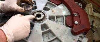 Шум в стиральной машине при вращении барабана