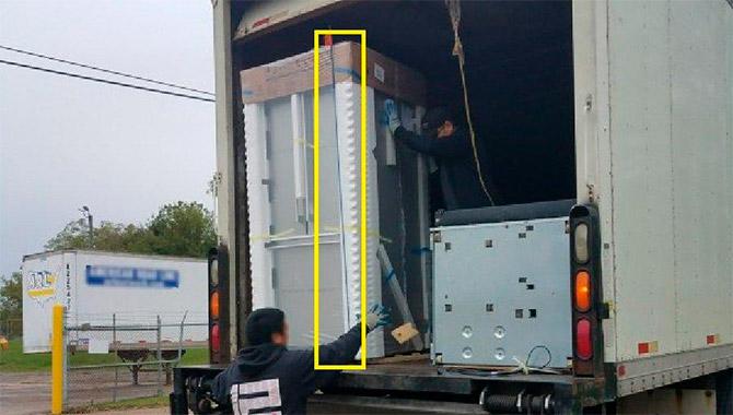 Упаковка холодильника перед транспортировкой