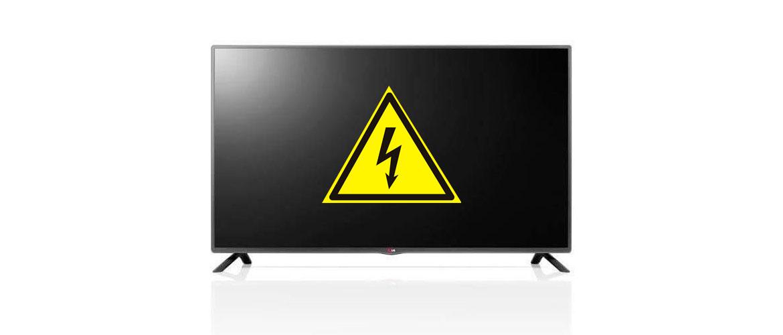 Телевизор включается и сразу выключается