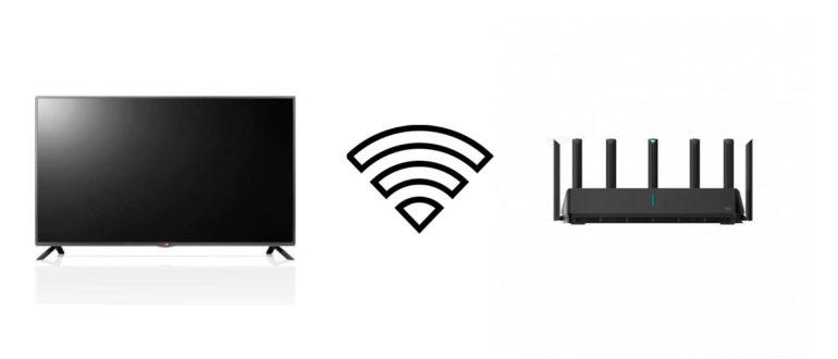 Как подключить телевизор к wifi